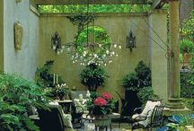 Gardens/ patios / by Maria Lauridsen