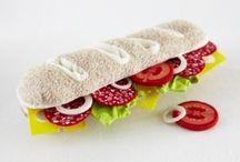 felt foods - sub sandwiches