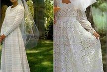 vestido croche casamento