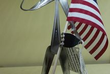Forked Up Art / Metal sculptures by Judson Jennings in North Salt Lake, Utah. Available at www.craftcompany.com.