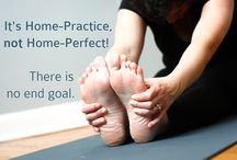 Home Practice / There are no rules for what your home practice should be, which can be freeing but may also feel intimidating. A regular home yoga practice can deepen your self-awareness, helping you more easily see what's going in your body, emotions and mind. It's also a simple, no-cost way to maintain your yoga practice when you can't get to a class.