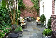 Outdoor spaces / by Kelly Dubyne {Distinctive Interior Designs}