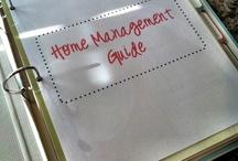 Home Management / by Eider Bermudez De Hashim