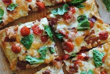 Burgers, wraps and pizza