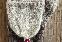 Knitting - Hats and Mittens