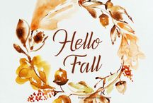 All Things Fall / Fall Inspirations