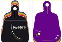 Boutique Bagoto / Toutes les couleurs, tous les motifs... Bagoto®, le sac à déchets réutilisable, pratique et design pour voitures : 1 création , 1 outil de com original, 1 prévention !