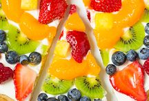 Fruit Pizzas & Fruit Arts