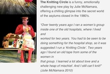The Knitting Circle / New play by Julie McNamara. Vital Xposure production. On tour See www.vitalxposure for info and dates. A must see! #NewWriting #Powerful #TrueStories #SocialJustice