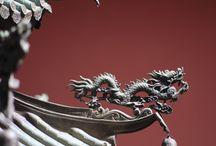 China feather / china sculp
