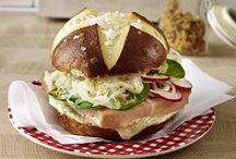 burger / sandwich / wraps / tacos