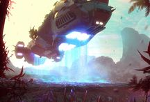 Illus // General / Illustrations / Concepts / Landscapes / Charakters / Robotics / Ships / Awesome Stuff