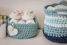 Bobbiny / Bobbiny, crochet, t-shirt yarn