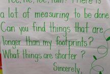 informal measuring