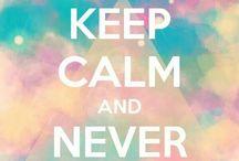 keep calm say
