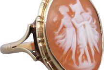 Vintage & Antique Cameo Jewellery