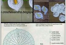 Barrados com Frutas em Crochê / Barred with Fruits upon Crocheted