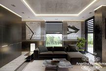 Интерьер резиденции в стиле минимализм в КП «Жуковка 21 век» / Интерьер квартиры в КП «Жуковка 21 век» очаровывает простотой минималистского стиля. Гостиная и спальня не имеют разделительную стену, это значительно увеличивает пространство и экономит место. Контраст чёрного и белого цвета создаёт изысканность и утончённость. В резиденции практически отсутствуют декоративные предметы. Именно поэтому бонсай так притягивает взгляд.