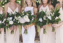 Blushing Bridesmaids