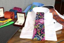 Shirts & ties / https://www.facebook.com/media/set/?set=a.10152362961054844.1073742158.94355784843&type=1  #mtm #madetomeasure #buczynski #buczynskitailoring #tailoring #shirt #tie #cotonificioalbini