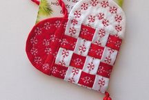 Christmas sewing/quilting/soft materials