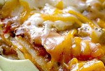 mexican  / casseroles and more