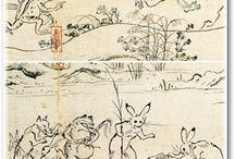 和柄・日本画