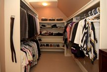 Closets  / For those walk-ins and super-organized closets we can't bear to close