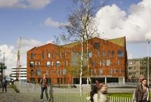 Gouden A.A.P. 2013 / Genomineerden voor de Amsterdamse Architectuurprijs 2013.