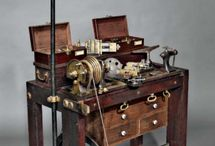 Machinery, tools and skills from a bygone era. / Old school craftsmanship.