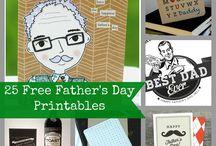Printable Father's day
