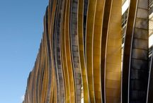 Elevations/Facades / Line, shape, clarity, smooth, streamlined, palpability, fascination, inspiration, emotion, tactility.