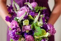 Wedding Bouquets & Flowers / Wedding bouquets, floral centerpieces, and flower petals down your aisle. The most colorful board yet! / by Gretchen Hubbard