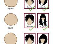 Tipos de corte según tu rostro