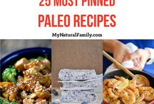 Paleo Recipes / These recipes are simple, yet yummy, grain free, white sugar free and legume free.