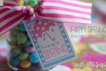 happy spring printable collection from Lauren McKinsey / by Lauren McKinsey
