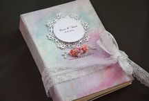 scrapbook album diary handmade