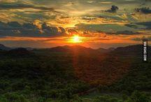 sunset 4 mandala