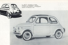 fiat 500 Oude advertenties / by Edwin van Denderen