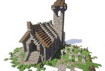 Minecraft hus