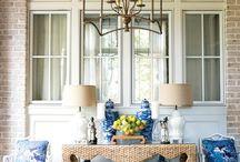 Blue & White Decor Themes