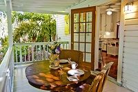 Elegant Key West Tree House - Monthly Vacation Rental - 2BR 1BA Sleeps 4 - $4800. per mo/ / by Vacation Homes of Key West - VHKW