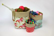Fabric Containers and Boxes