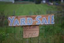 Yard Sale Ideas / What's better than a well-done yard sale?  Love to have the prices already there. / by Gwen Fisher