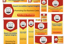 """BC GO MLM Banners / Promotional Banners """"Business Cards Go MLM"""""""