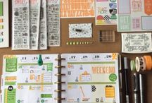 Planning - Miss Lizzy / Here you can find my Planner pages and blog posts