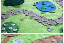 diy felt playmat