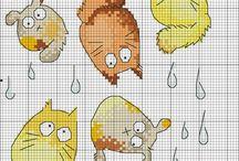 Cross Stitch Patterns // схемы для вышивки крестиком