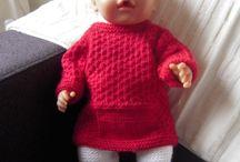 zelfgemaakte babyborn kleding