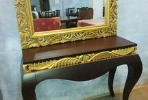 SaGa / Hand Made & Hand Carved Furniture in Teak with Melamyne or PU Finish.